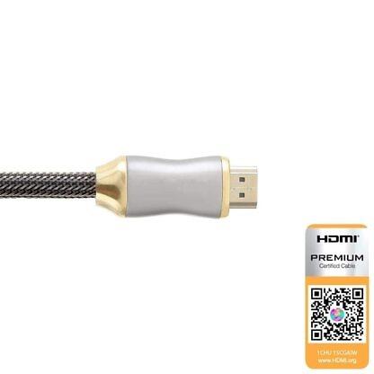 HDMI-kabel 0.5 meter High-Speed 4k achterkant