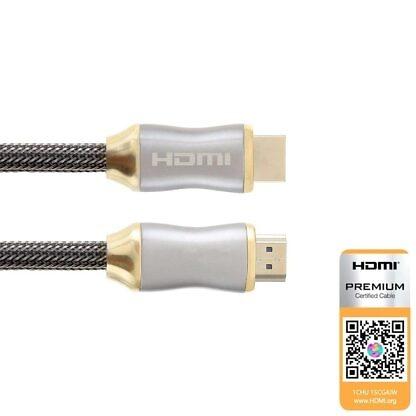 HDMI-kabel 1 meter High-Speed 4K