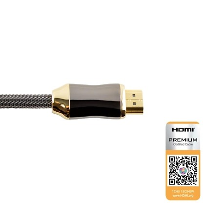 HDMI-kabel 1 meter Ultra High Speed 8K achterkant